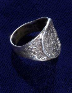 Signet Ring - 8.4 grams Sterling Silver